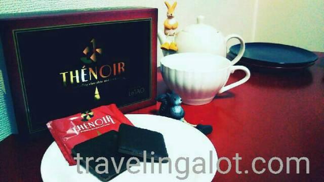 ルタオの紅茶クッキー「テノワール」