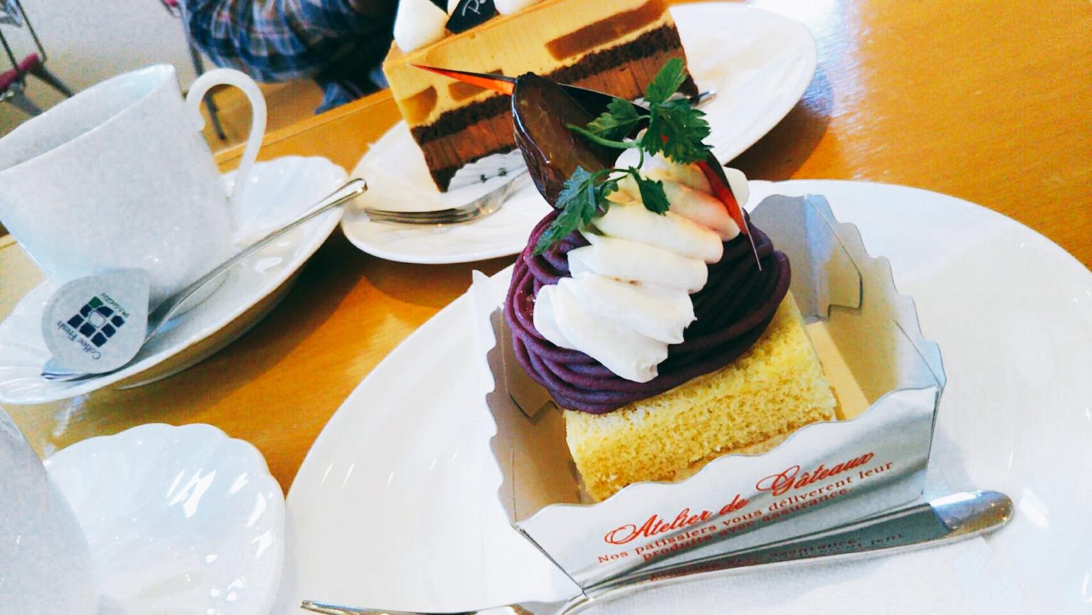 函館メルチーズのお店プティ・メルヴィーユのカフェ