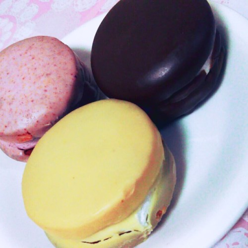 花月堂のお菓子「八幡平の樹氷」、ふわふわ食感!