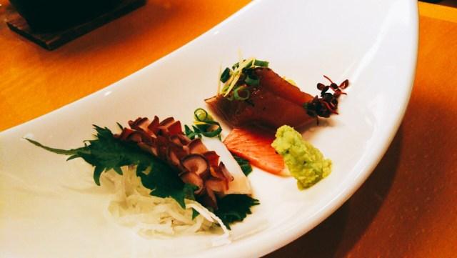十和田ホテル夕食のお刺身