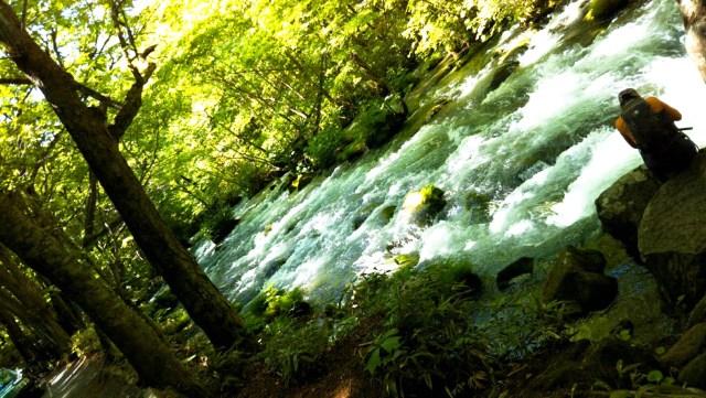 奥入瀬渓流「三乱の流れ」
