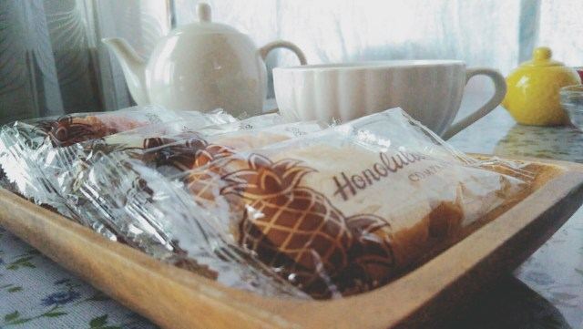 ホノルルクッキーでひと休み
