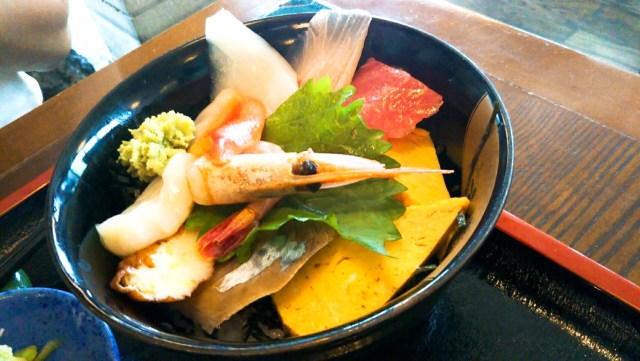 一関市ふじせいの海鮮丼