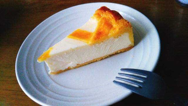岩手県ロシア料理「トロイカ」のチーズケーキ