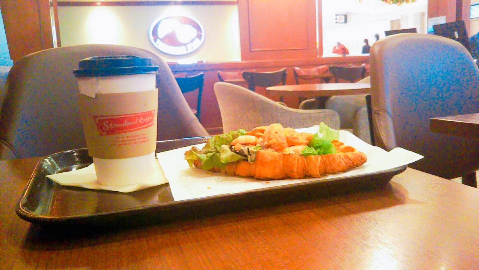 札幌駅「カフェクロワッサン」のモーニング!アピアにある朝食スポット