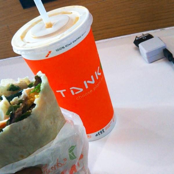 TANK(タンクジュース)でヘルシー朝食 in ニュージーランド!