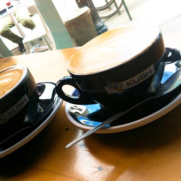 ネルソンのカフェ「クシュコーヒー」でブランチ!Kush Coffee Nelson in NZ