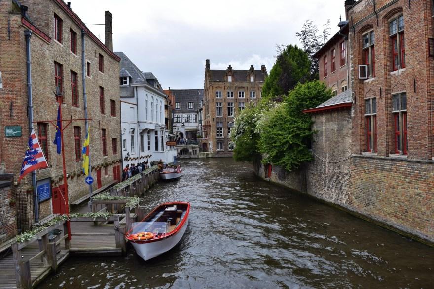 This shot was taken in Brugge, Belgium.