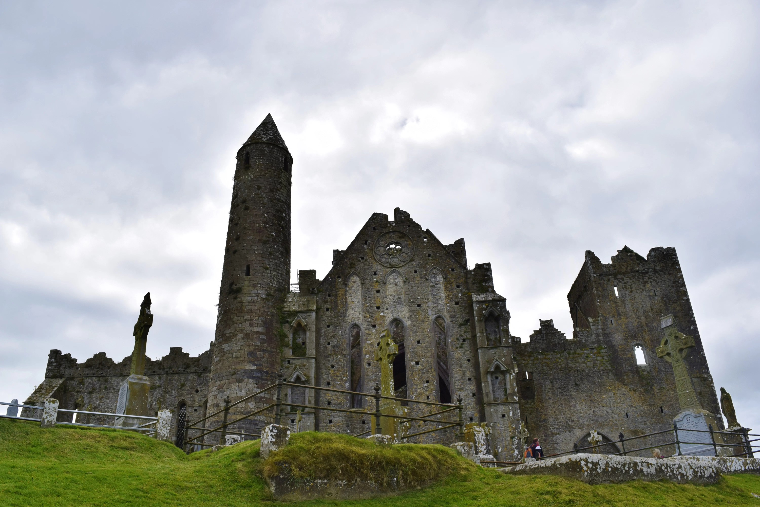The Rock of Cashel in Cashel, Ireland.