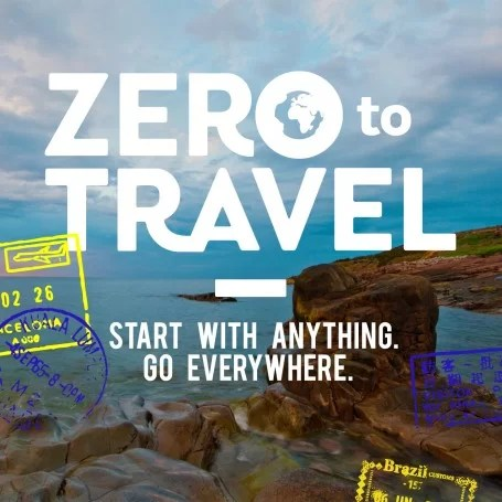 Zero To Travel Podcast Logo