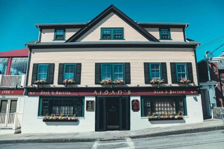 Aidan's Pub in Bristol, Rhode Island.