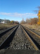 Every Good Story needs some deserted train tracks!