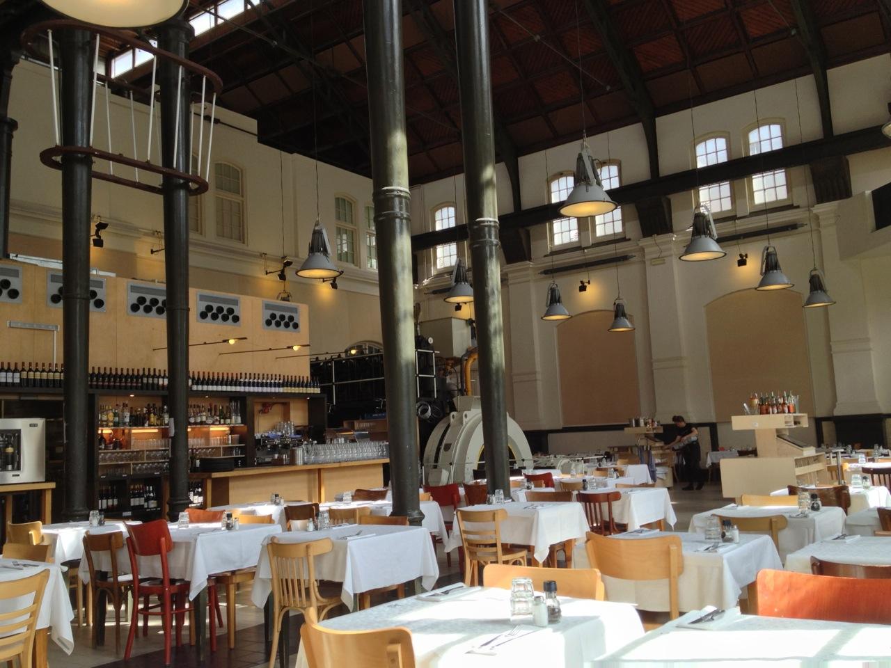 Inside Café-Restaurant Amsterdam