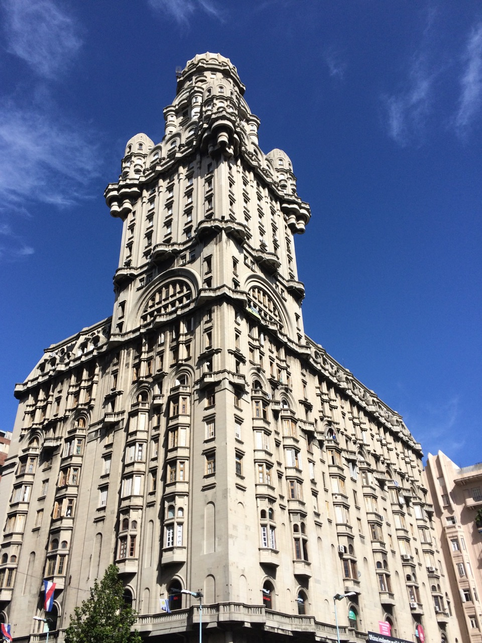 Palacio Salvo is the iconic landmark of Montevideo