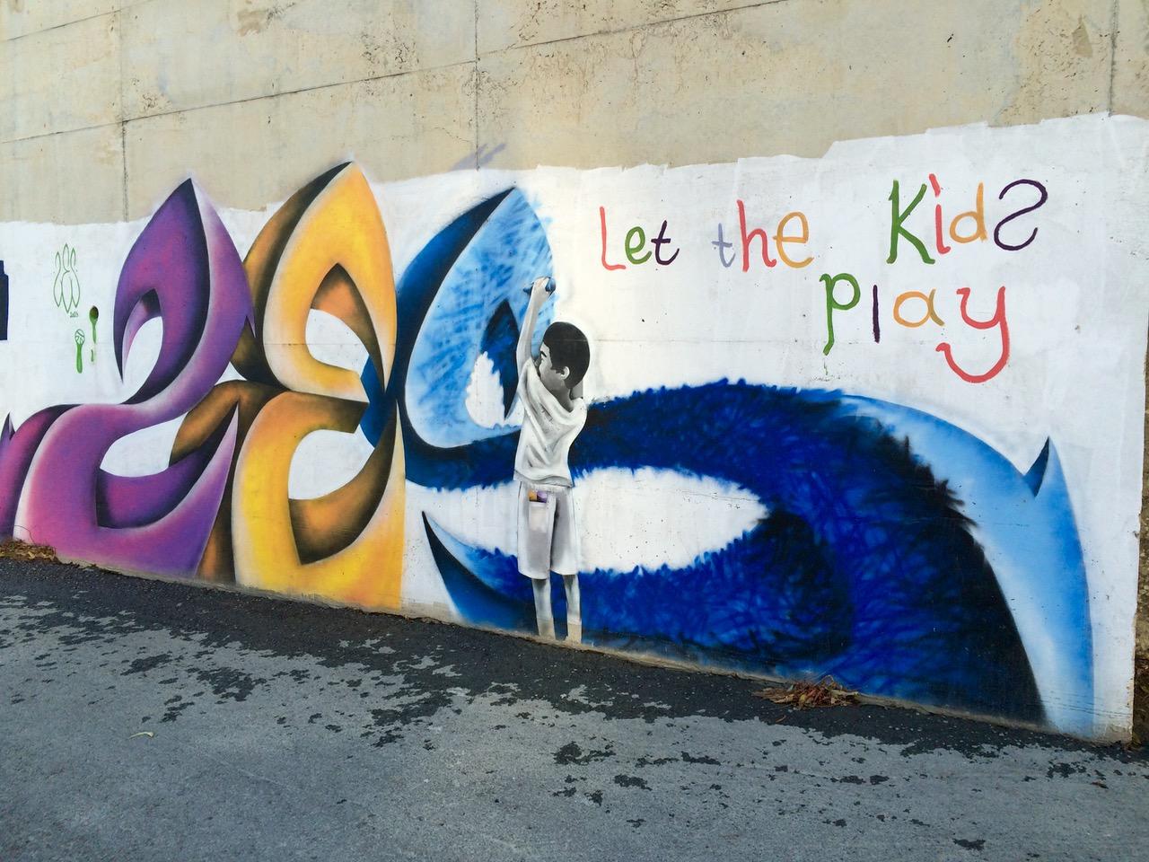 Street art in Cyprus