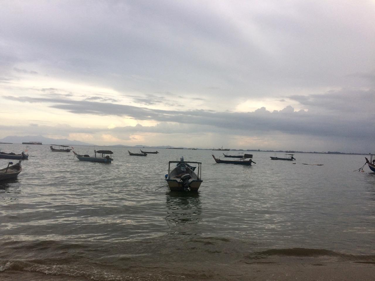 Penang Island boats