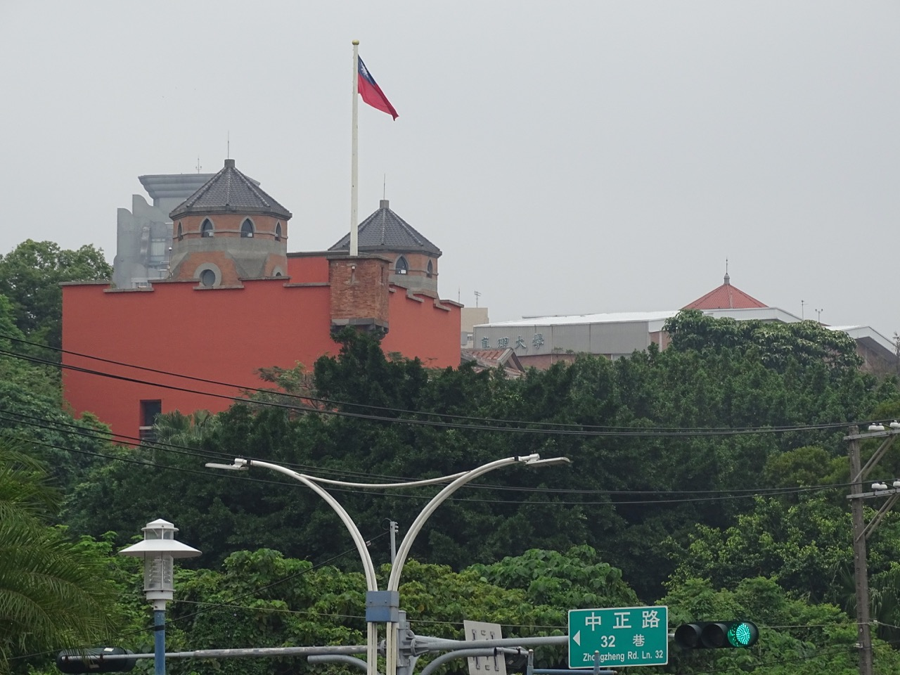 Hongmao Castle in Tamsui