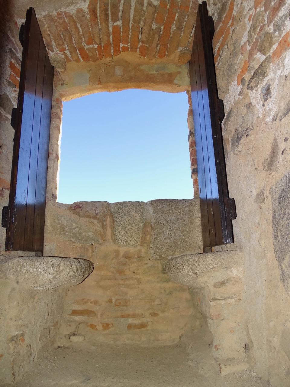 The castle's window