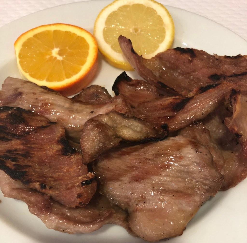 Iberian black pork