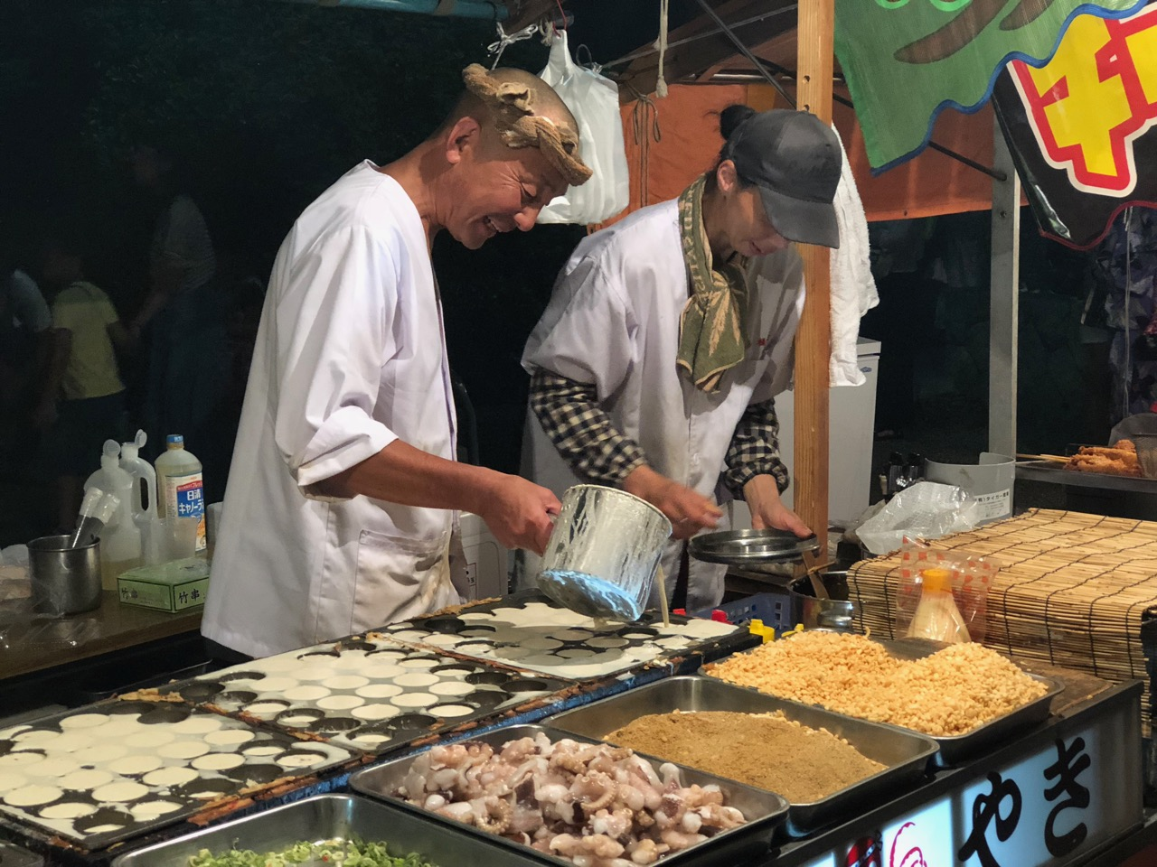 Sakai Oouo Yoichi Festival (aka Sakai Big Fish Night Market)
