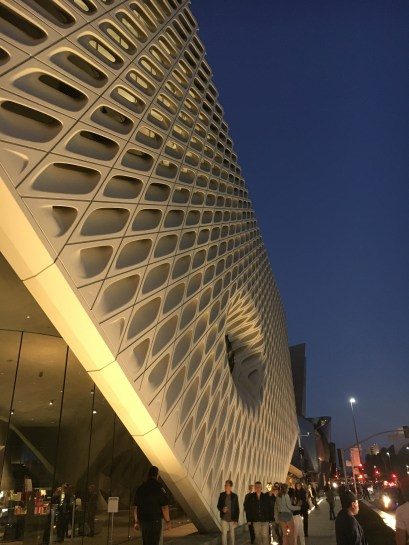Outside The Broad.