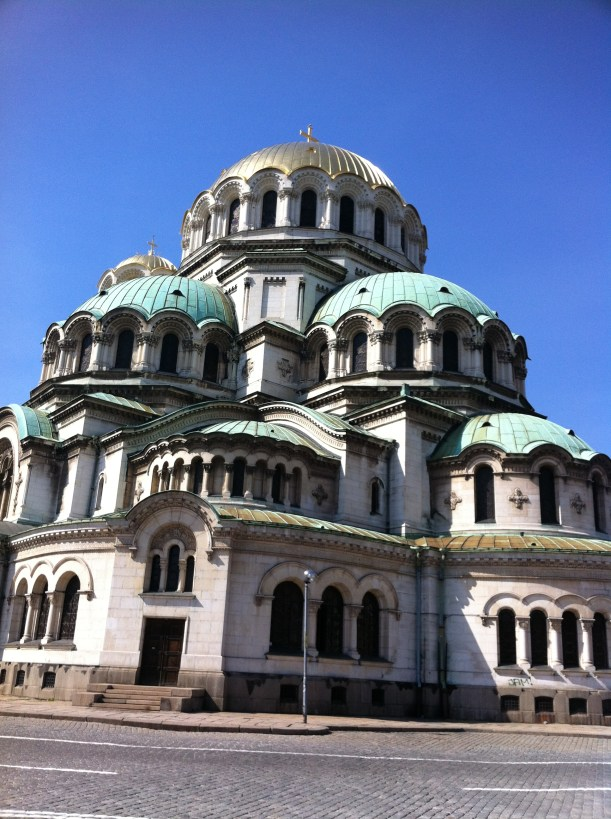 Cathedral of Alexander Nevsky Sofia Bulgaria