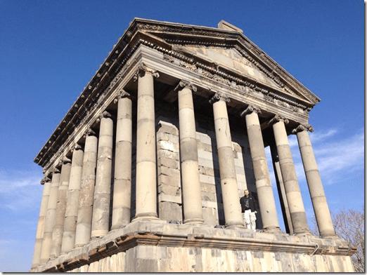 Garni Pagan Temple in Armenia