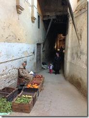 Vegetable alleyway