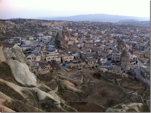 Goreme from above