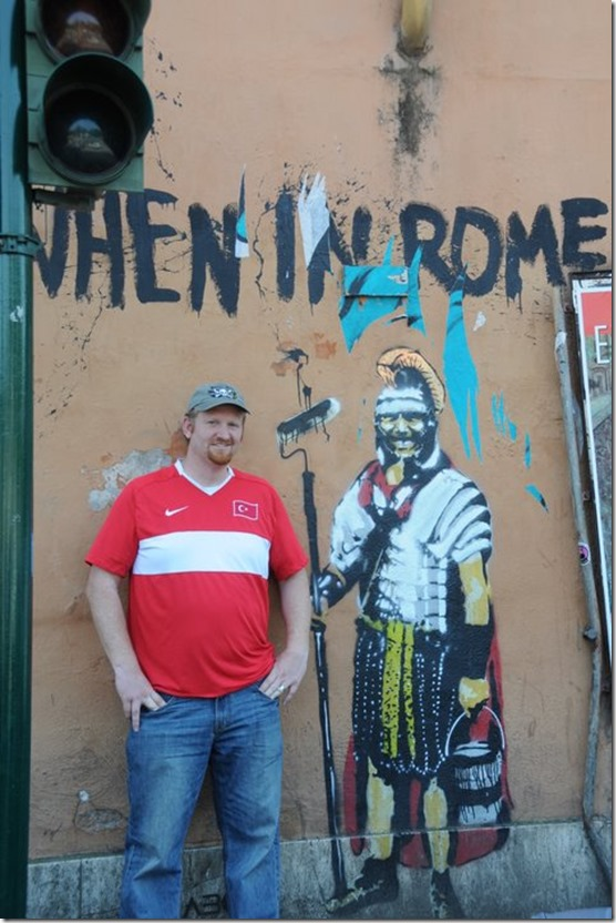 When in Rome!