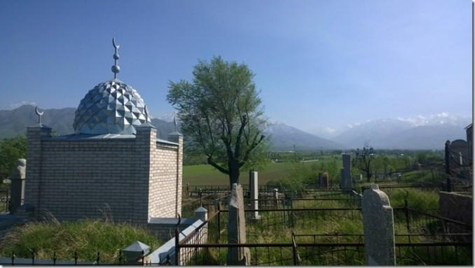 kyrgyz graves