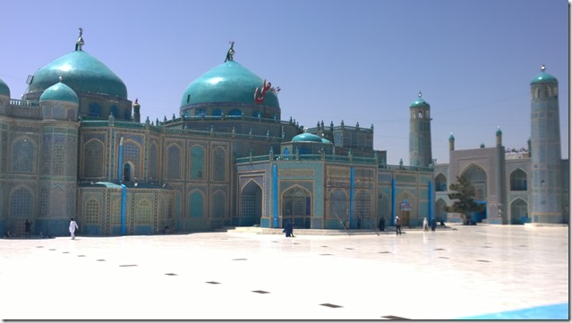Shrine of Ali and Blue Mosque Afghanistan