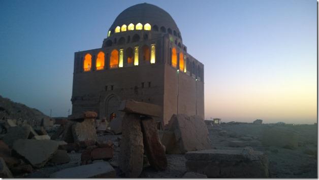 Sultan Sanjar mausoleum dome merv