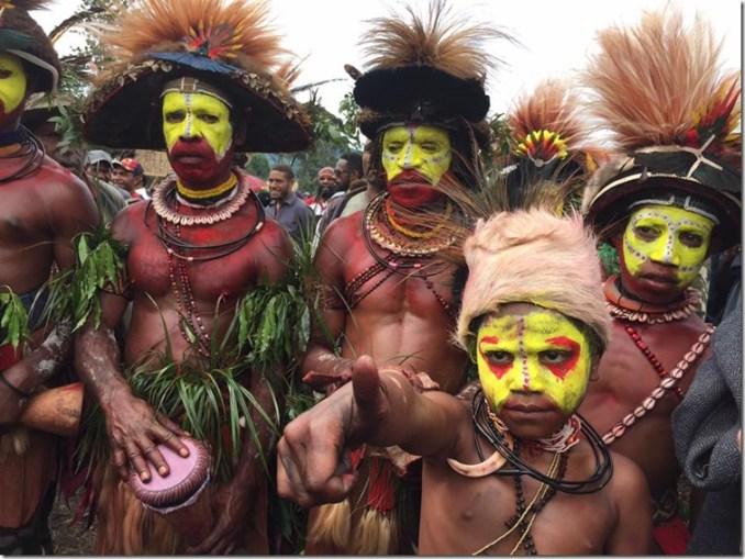 Tribal thumbs up