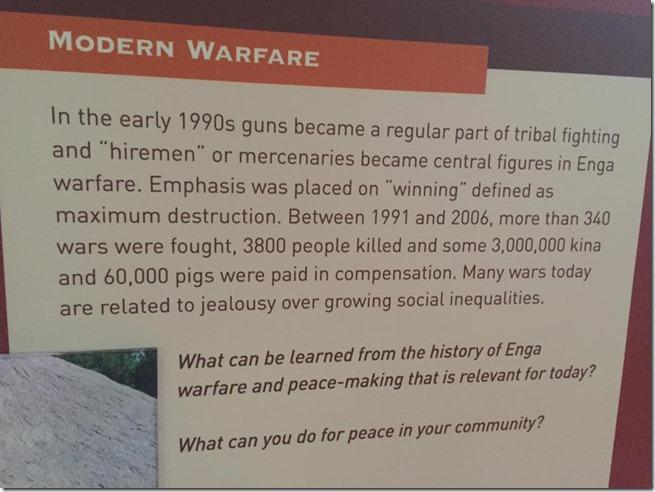 Modern Warfare Papua New Guinea