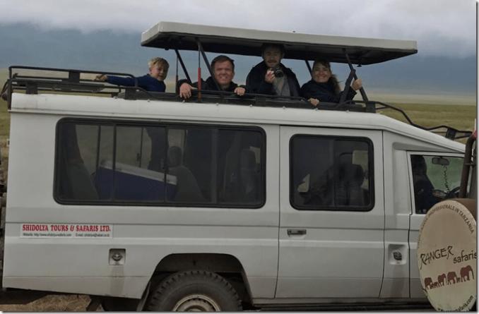 trekking the serengeti