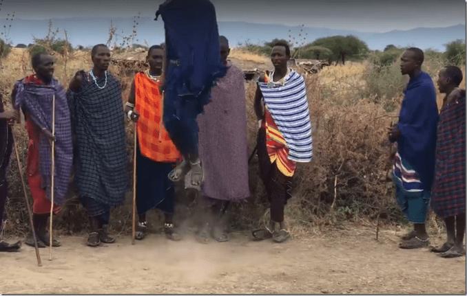 Jumping Masai