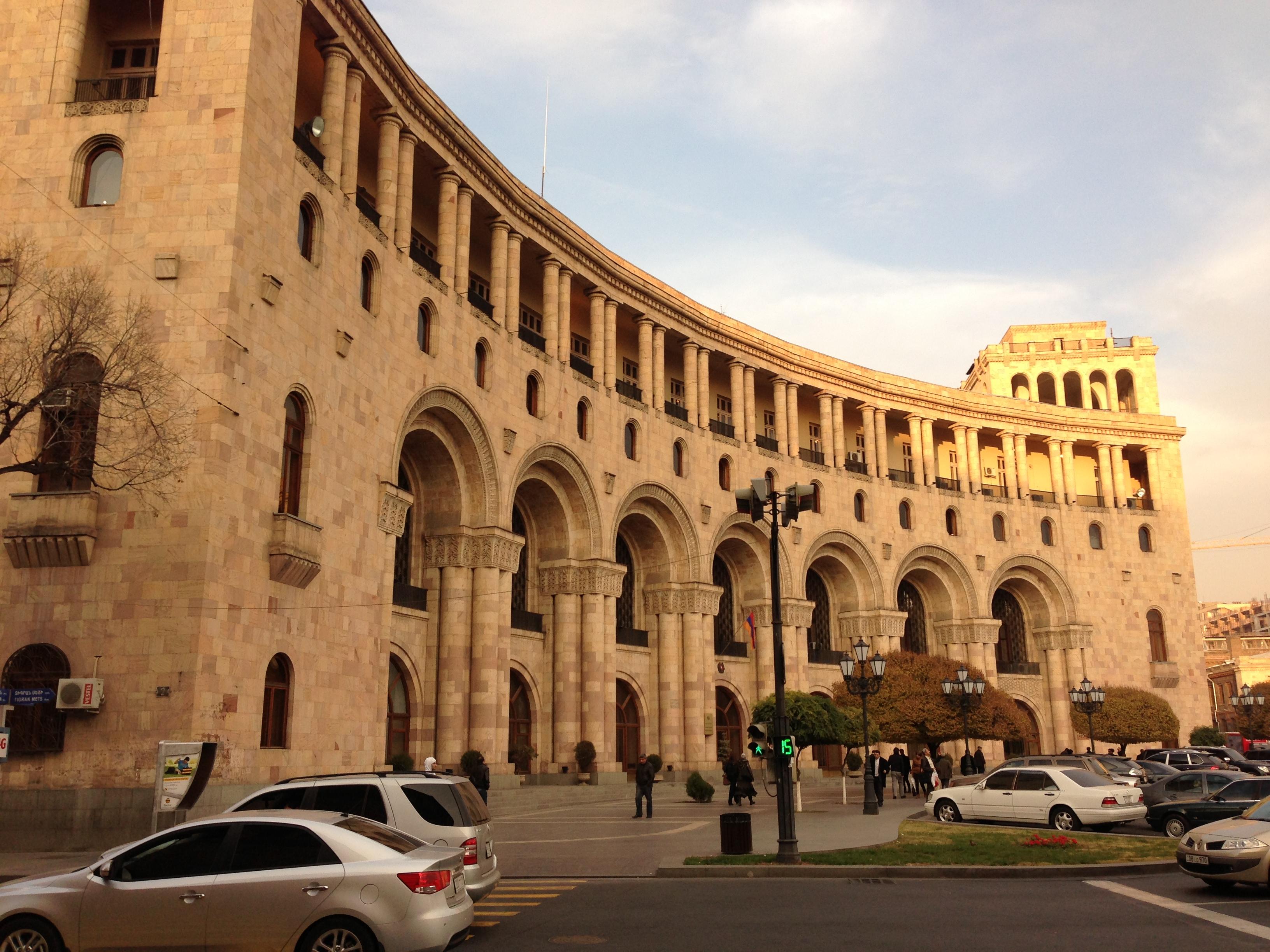 yeravan square armenia