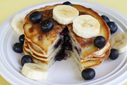 Banana and Egg white Pancakes!