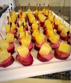 Kielbasa Pineapple Appetizer