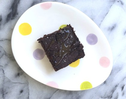 black bean healthy protein fudge