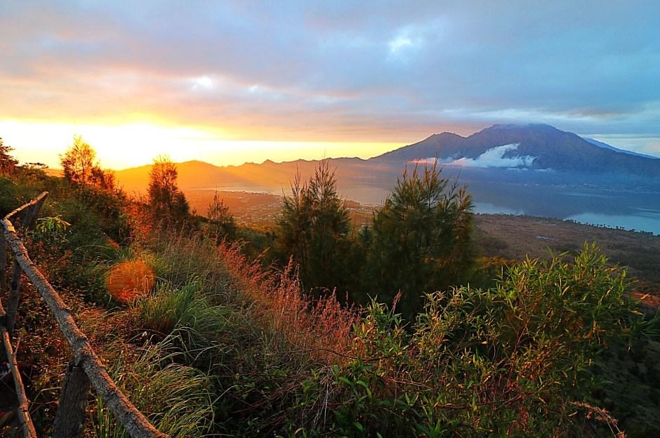 hiking in ubud