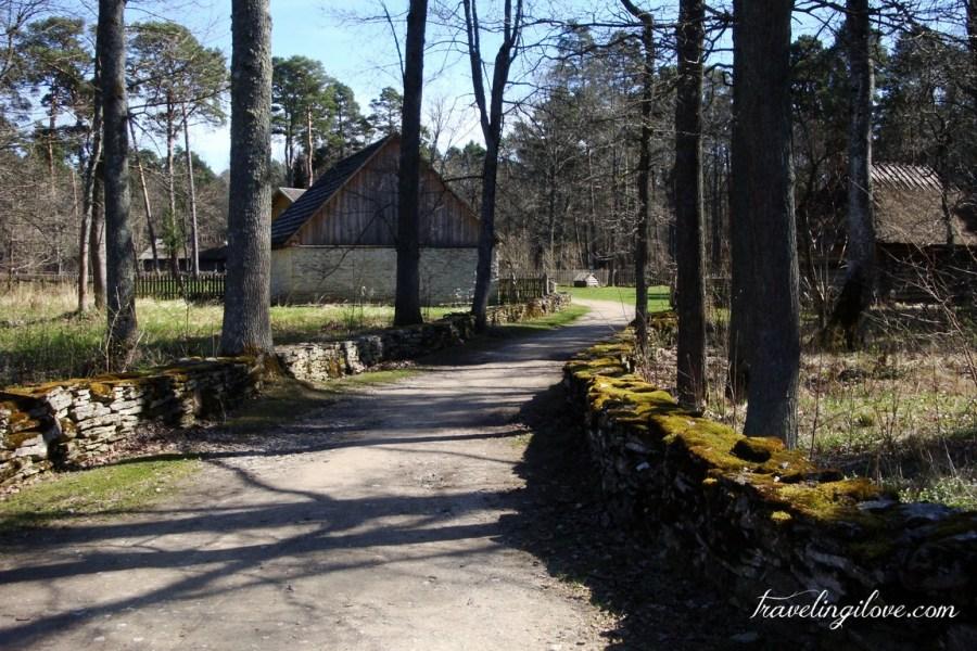 Rocca Al Mare folk museum Estonia