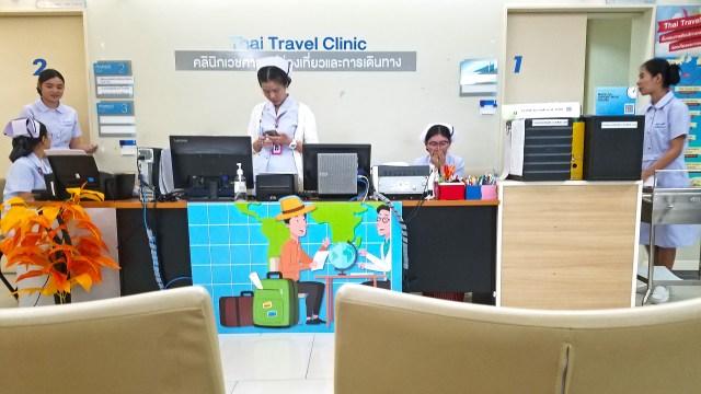 Travel clinic Bangkok @travelingintandem