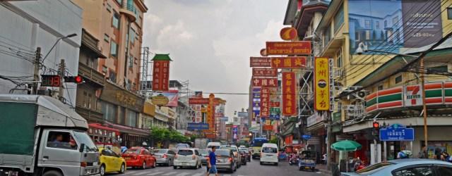 Yaowarat Road daytime Bangkok @travelingintandem