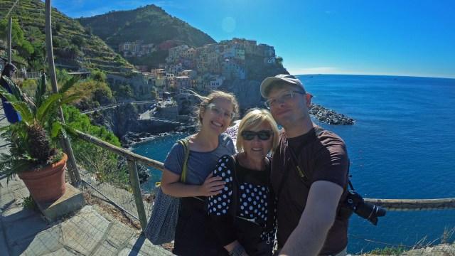 Selfie Manarola, Cinque Terre @travelingintandem