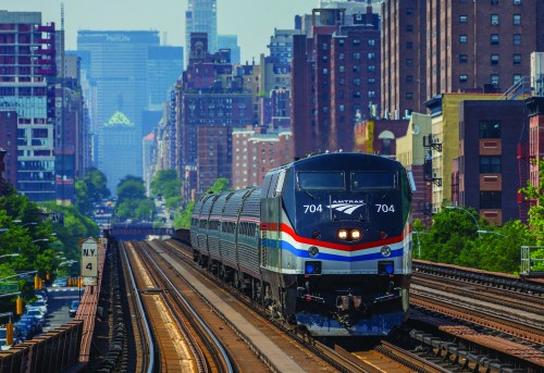 Amtrak in New York City.  Share Fares for Pride