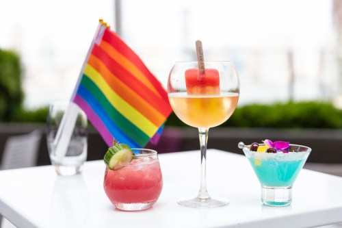 Hilton New York Hotels create Pride inspired cocktails for World Pride