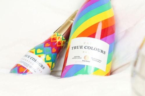 True Colours Cava bottles