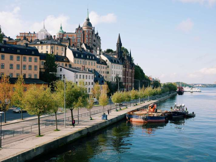 Söder Mälarstrand in Stockholm, Sweden